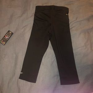 Nike Pants - Black Nike Pro Crop Leggings